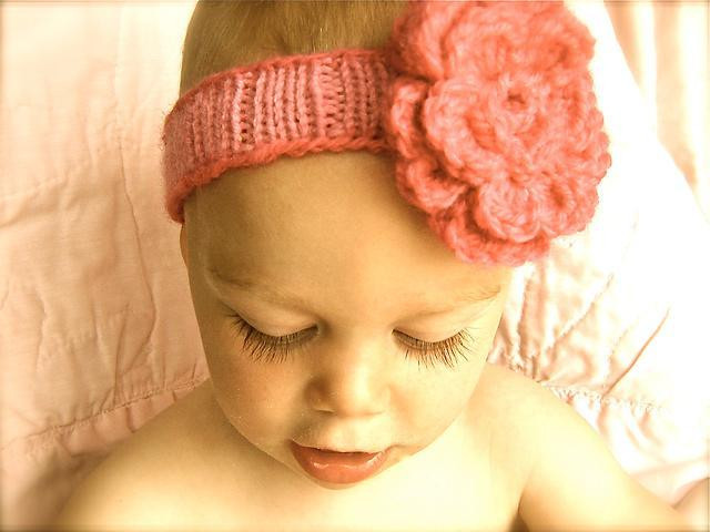 "Best Of ""spring"" Baby Headband by Aaknits Baby Headband Knitting Pattern Of New 47 Ideas Baby Headband Knitting Pattern"