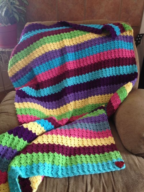 Best Of Rainbow Blanket Crochet Stricken & Häkeln Rainbow Crochet Blanket Of Great 40 Photos Rainbow Crochet Blanket