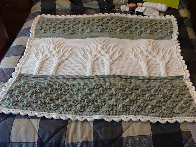 Ravelry susanmay77 s Tree of Life Afghan Wedding Gift