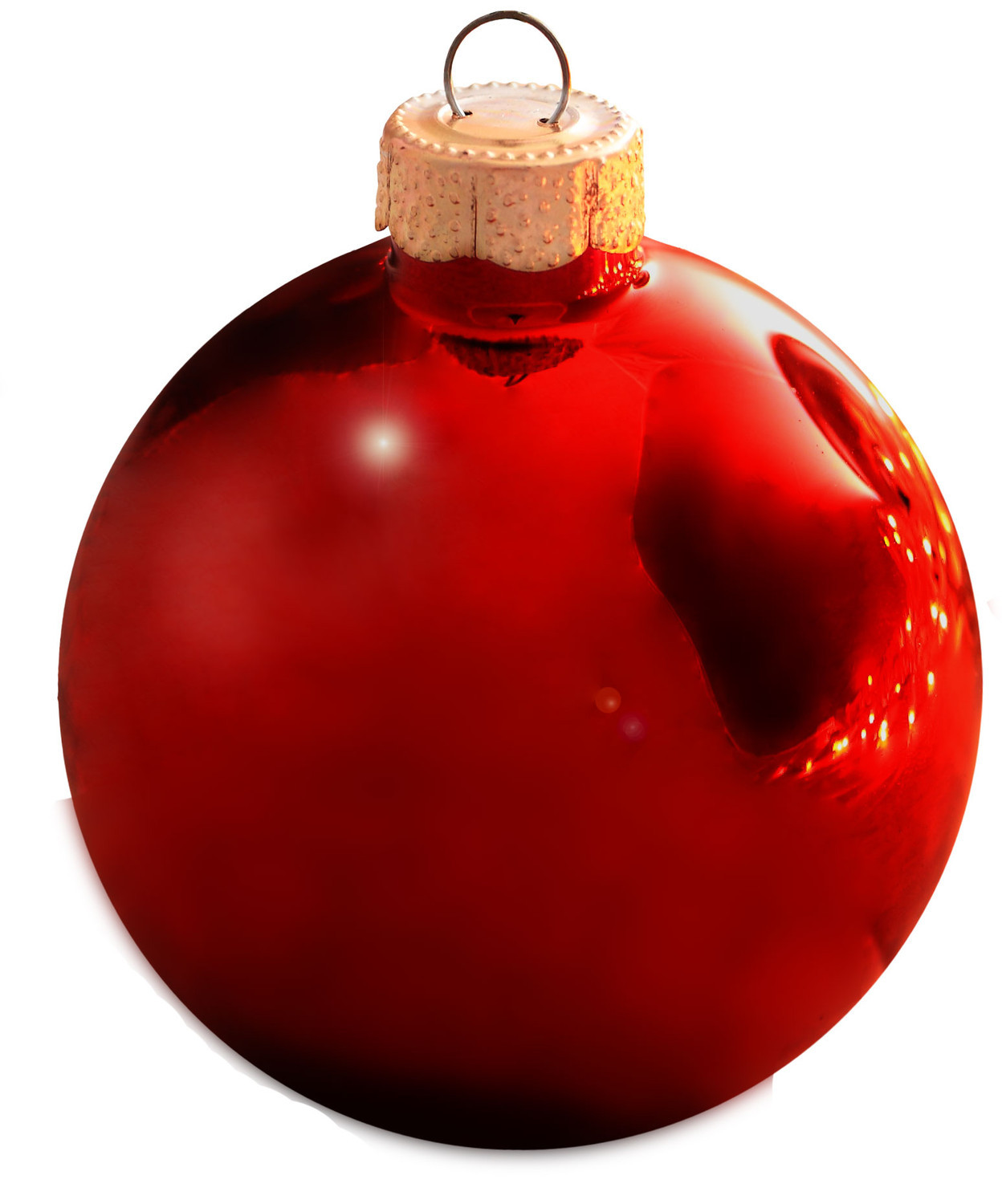 Red Christmas Tree Ornaments – Happy Holidays