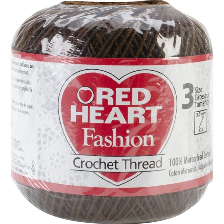 Best Of Red Heart Fashion Crochet Thread Size 3 Coffee Walmart Red Heart Crochet Thread Size 3 Of Beautiful 42 Ideas Red Heart Crochet Thread Size 3