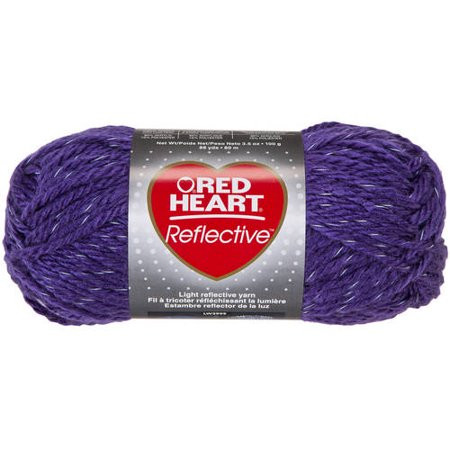 Red Heart Reflective Yarn Available in Multiple Colors