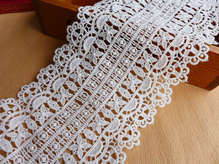 Best Of Retro Crochet Lace F White Lace Trim Wide Cotton Fabric Lace Crochet Lace Fabric Of Attractive 45 Images Crochet Lace Fabric