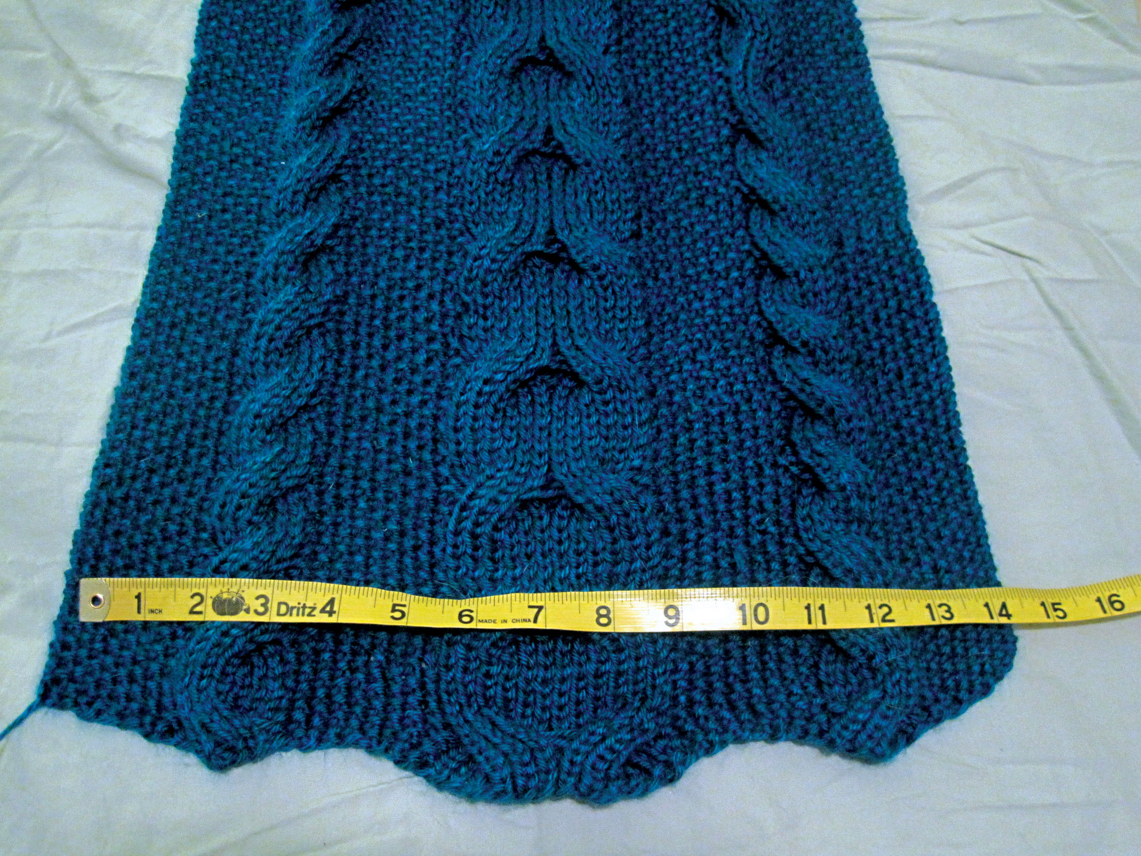Best Of Reversible Cable Scarf From Vogue Knitting the Cable Knit Scarf Of Delightful 48 Ideas Cable Knit Scarf