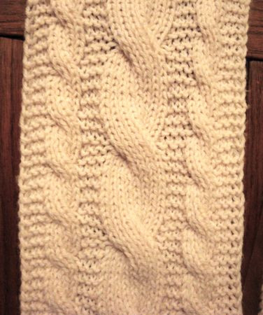Best Of Reversible Cables Cable Scarf Pattern Of Attractive 46 Pics Cable Scarf Pattern