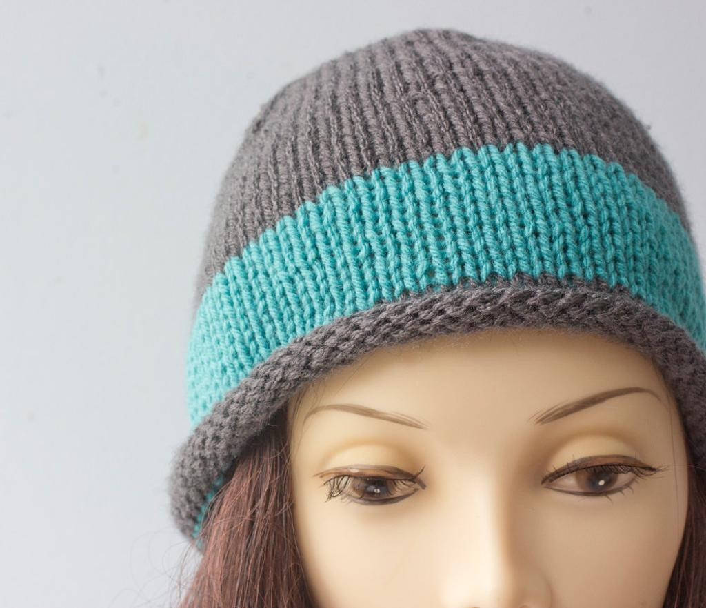 Best Of Rolled Brim Hat by Black Iris Craftsy Knit Hat with Brim Of Contemporary 48 Pictures Knit Hat with Brim