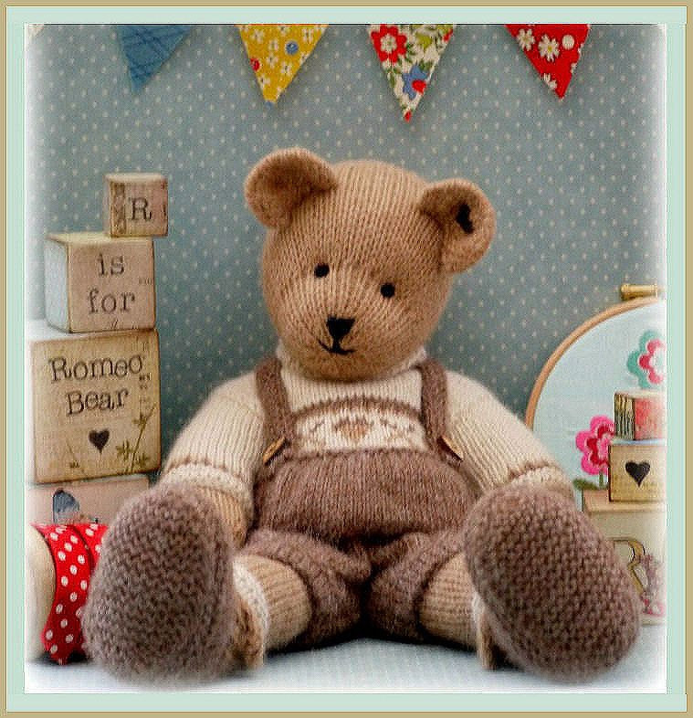Best Of Romeo Bear Teddy Bear toy Knitting Pattern Pdf Plus Free Knitted Teddy Bear Of Amazing 45 Ideas Knitted Teddy Bear