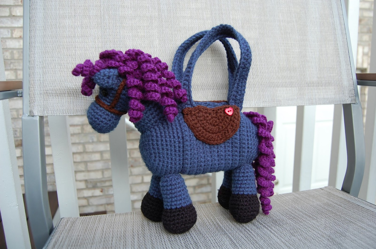 Best Of Roonie Ranching Lauren S Horse Purse Free Crochet Horse Pattern Of Charming 47 Ideas Free Crochet Horse Pattern