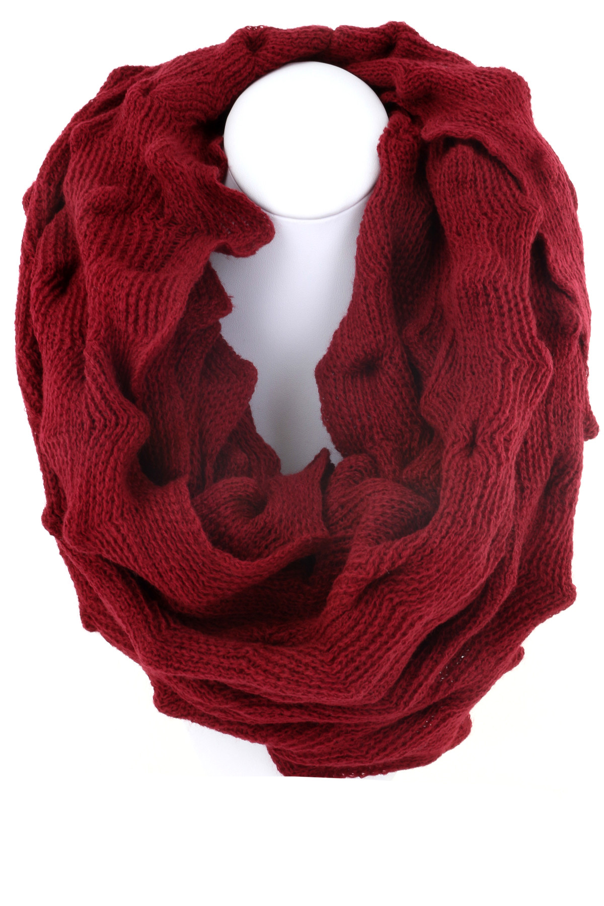 Best Of Ruffled Knit Scarf Scarves Knit Ruffle Scarf Of Marvelous 50 Pics Knit Ruffle Scarf