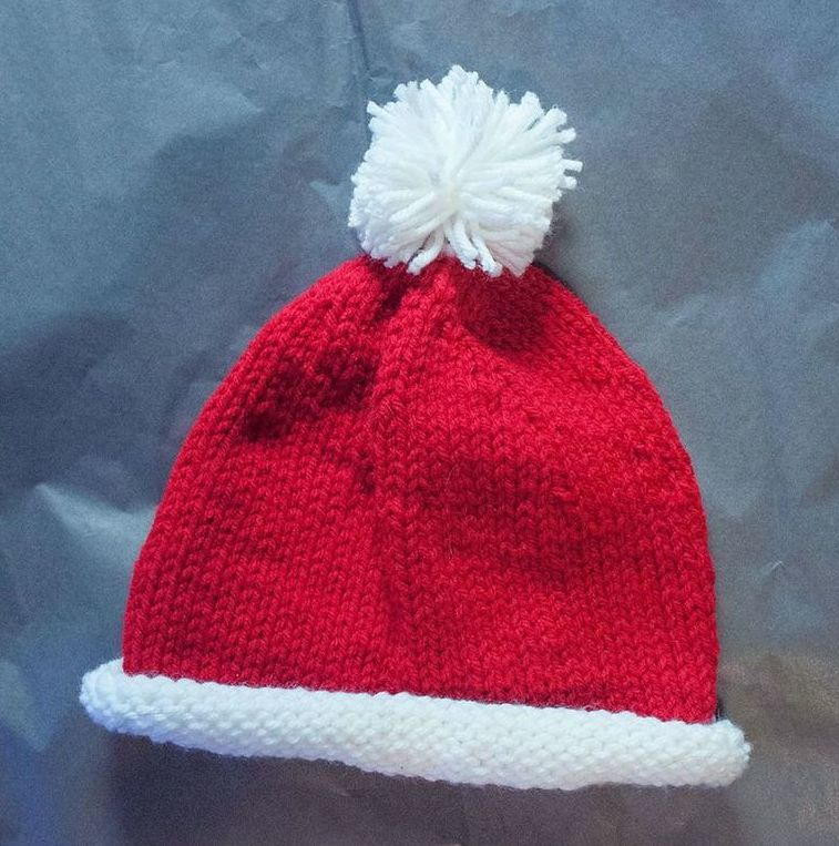 Best Of Santa Baby Hat Knitted Santa Hat Of Fresh 50 Photos Knitted Santa Hat
