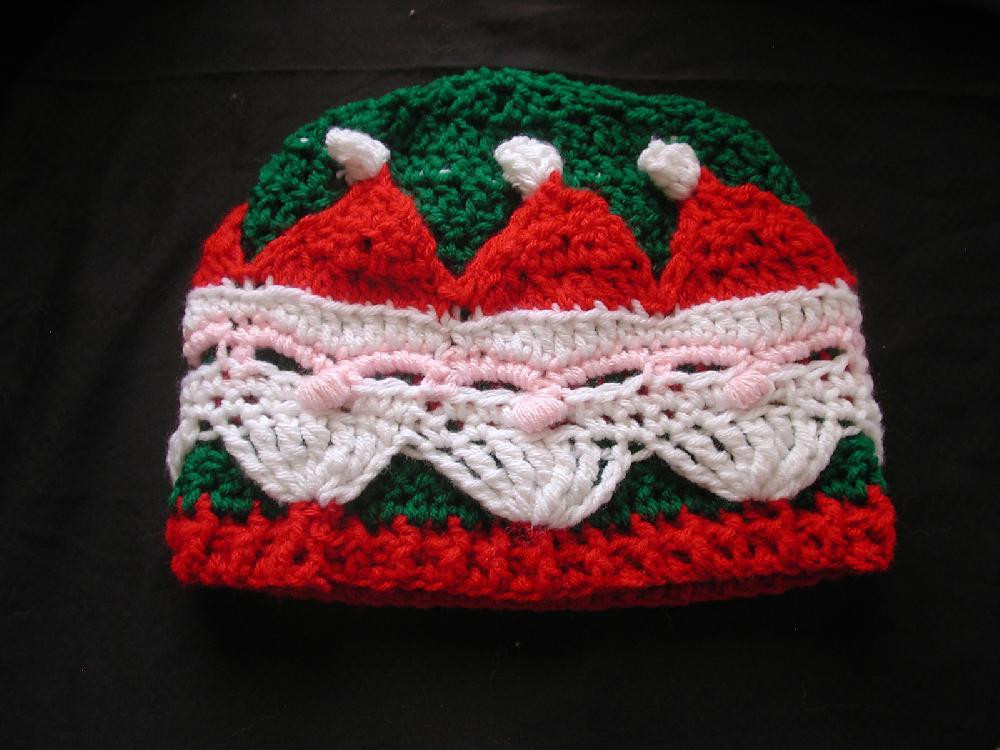 Best Of Santa Hat Crochet Pattern by Spider Mambo Santa Hat Pattern Of Unique Musings Of A Knit A Holic From Wales Knitting Pattern Santa Hat Pattern