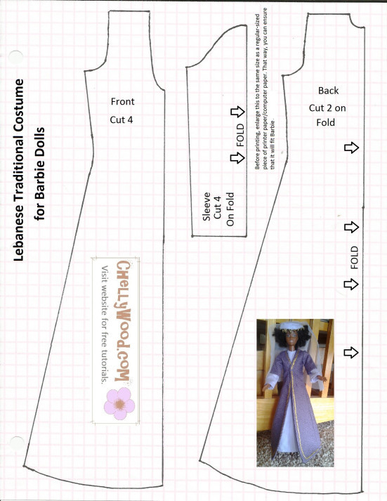 graphic regarding Free Printable Doll Clothes Patterns referred to as Beautiful Barbie Doll Types Free of charge Printable Woodworking