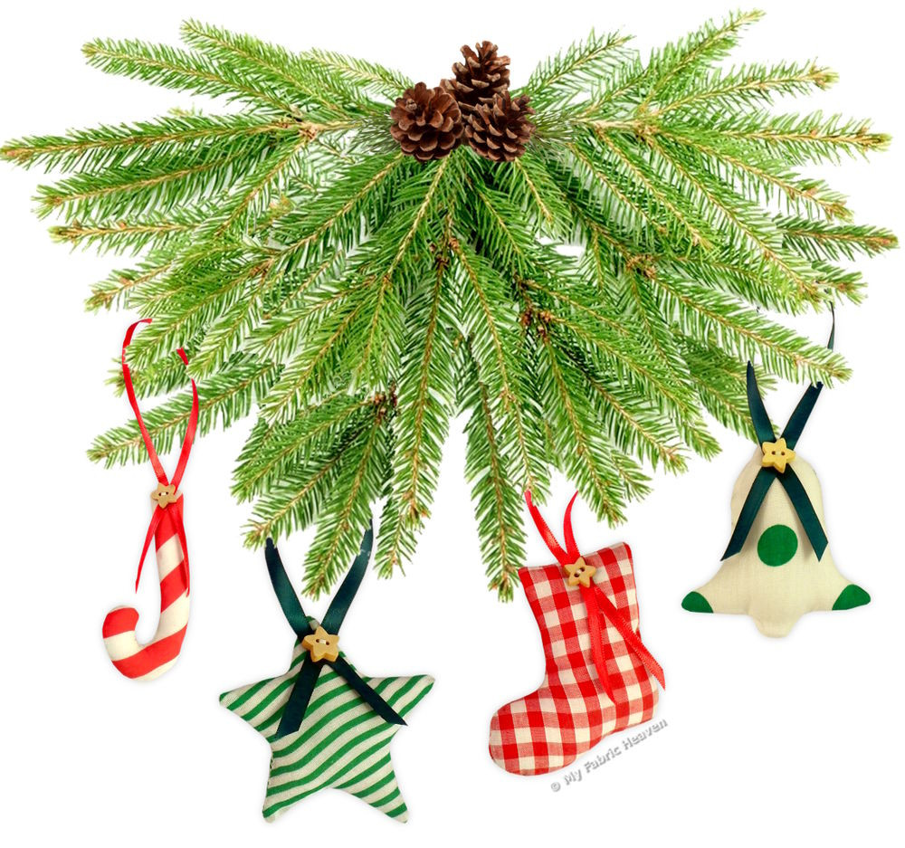 Best Of Sewing Pattern 6 X Fabric Christmas Tree Decorations Christmas Sewing Patterns Of Contemporary 43 Images Christmas Sewing Patterns