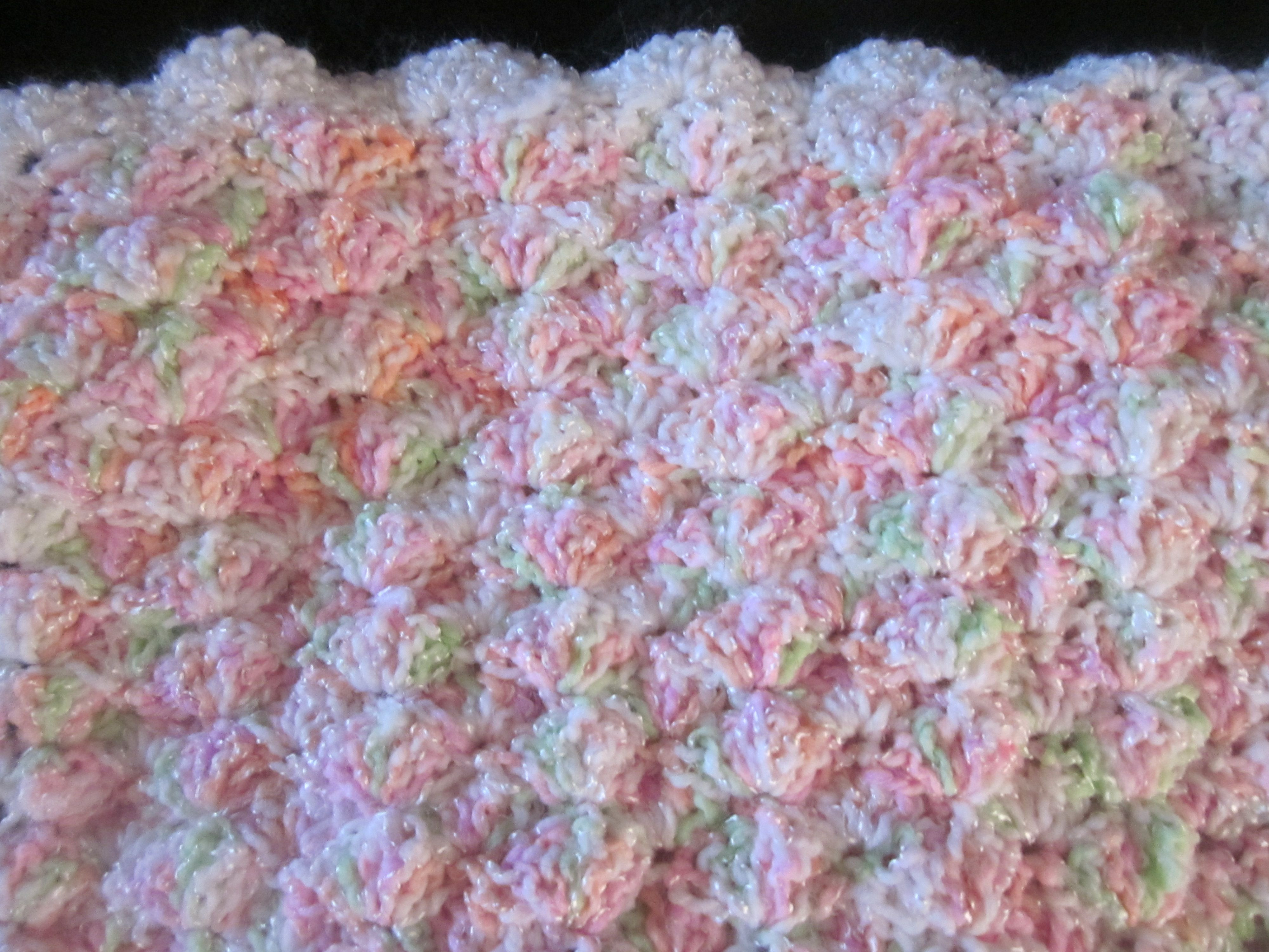 Best Of Shell Baby Girl Afghan Shell Stitch Baby Blanket Of Brilliant 49 Images Shell Stitch Baby Blanket