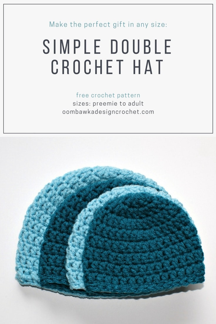 Best Of Simple Double Crochet Hat Pattern • Oombawka Design Crochet Easy Crochet Hat Patterns for Adults Of Delightful 48 Photos Easy Crochet Hat Patterns for Adults