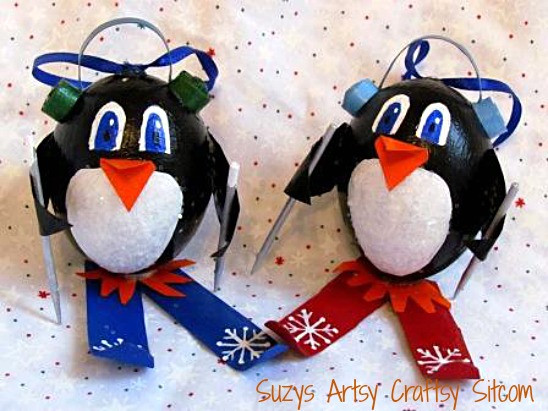 Best Of Skiing Penguin ornaments Tutorial Penguin Christmas ornaments Of Top 50 Models Penguin Christmas ornaments