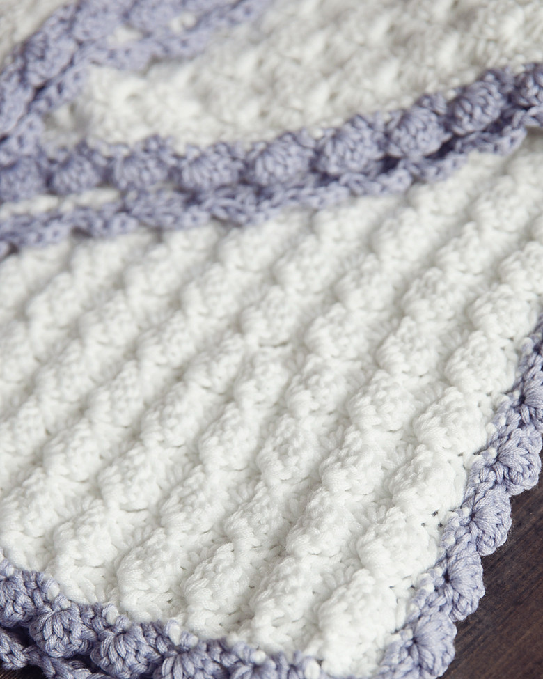 Sleep well with free crochet patterns for baby blankets