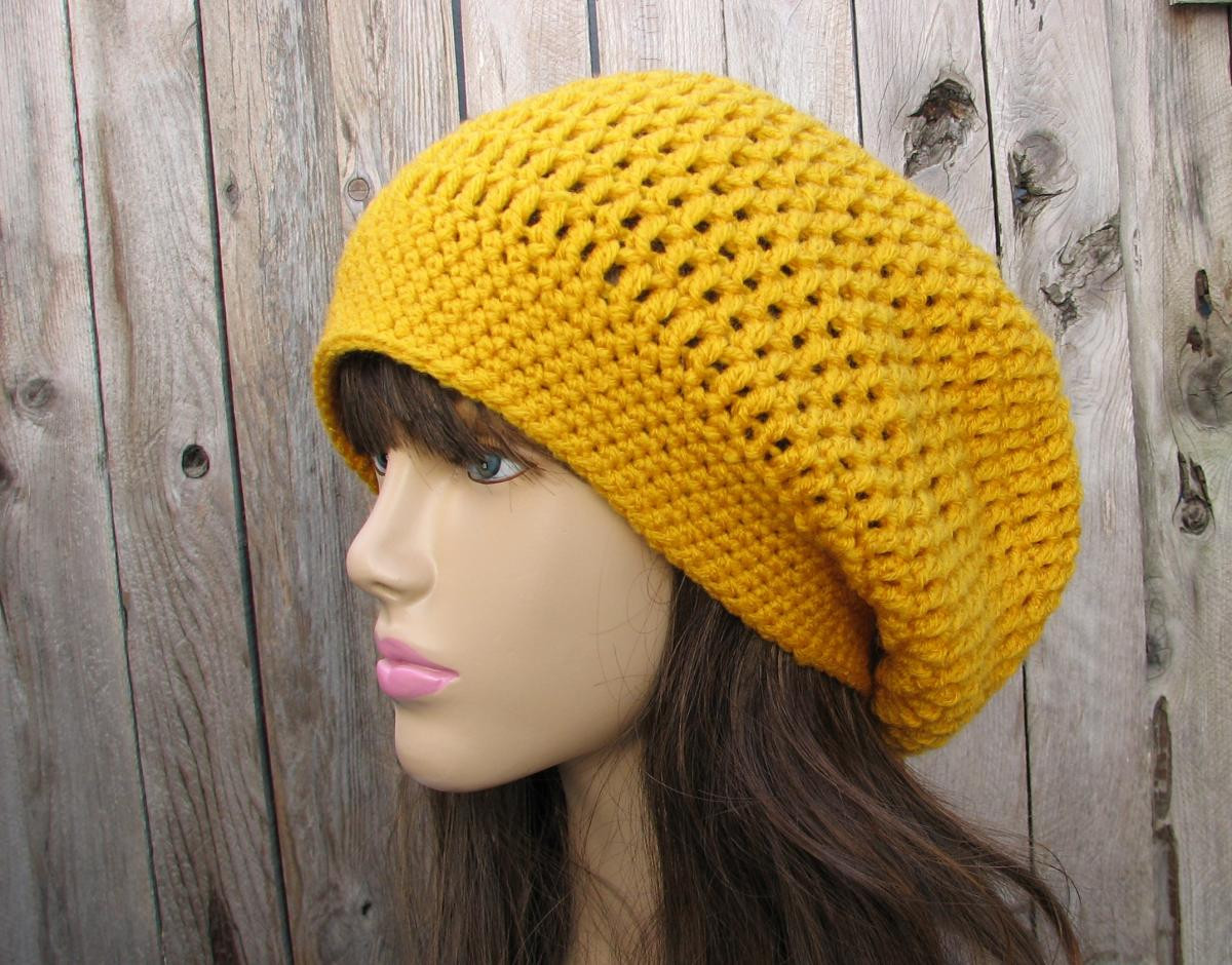 Best Of Slouch Hats – Tag Hats Crochet Beret Pattern Of New 47 Pics Crochet Beret Pattern