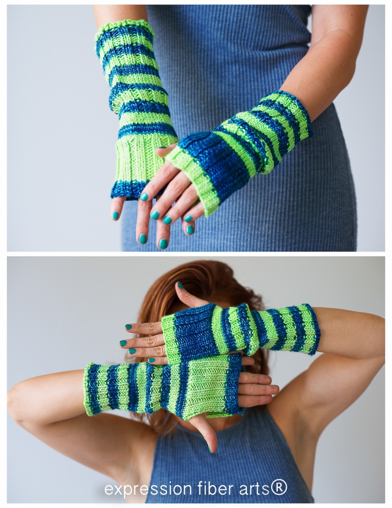 Slouchable Knitted Arm Warmers Pattern – Expression Fiber