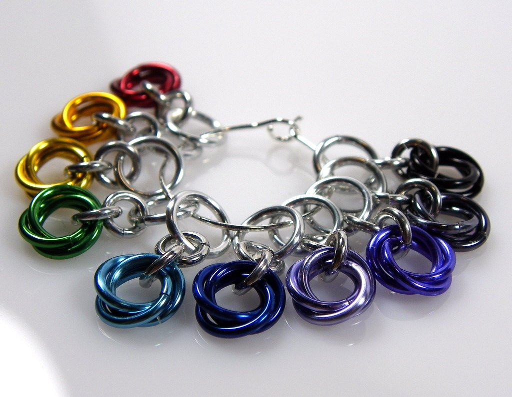 Small Knitting Stitchmarkers Rainbow Stitch Markers