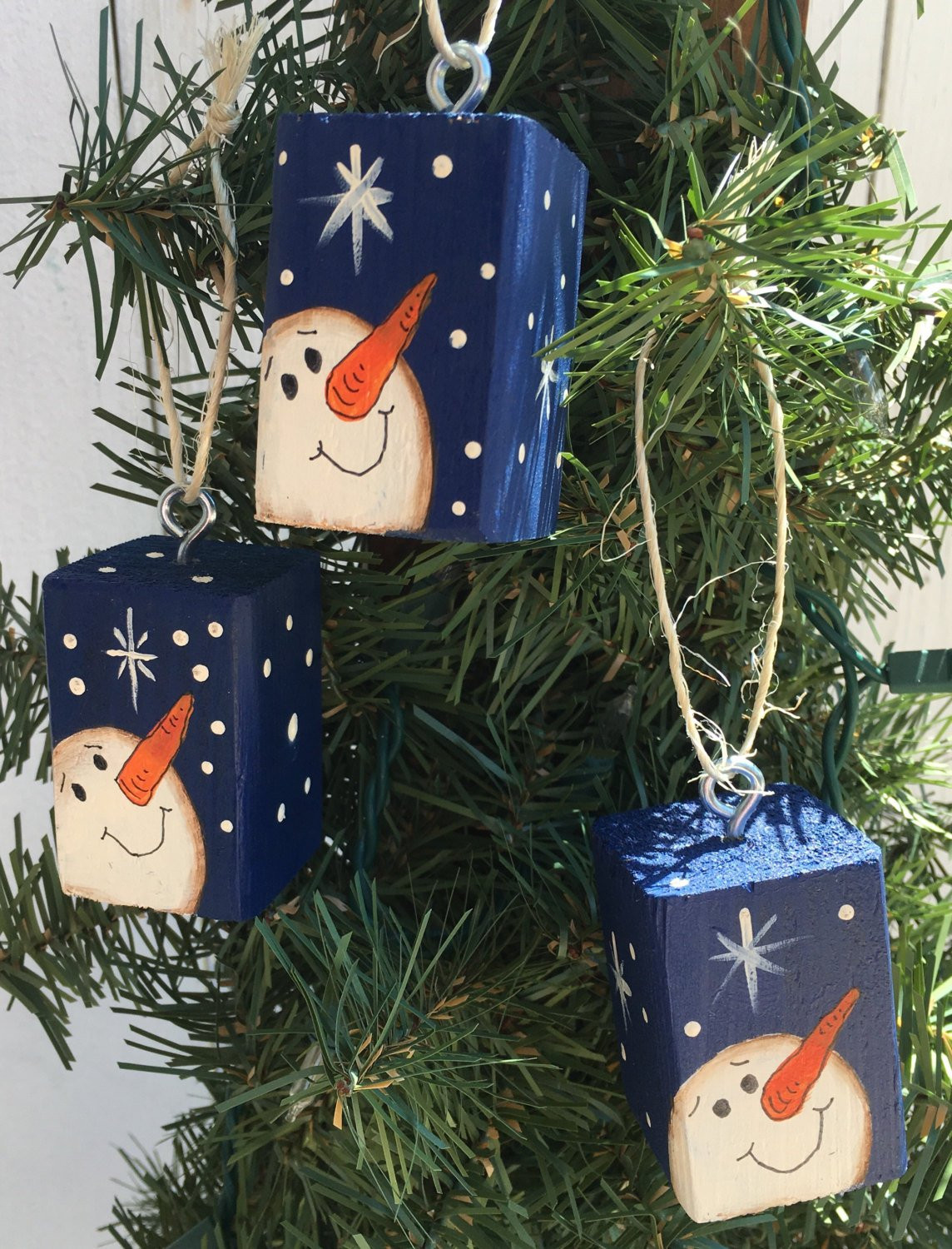Best Of Snowman Christmas Tree ornaments Set Of 3 Snowman Christmas ornaments Of Adorable 45 Models Snowman Christmas ornaments