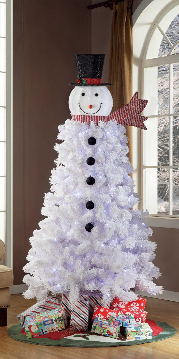 Best Of Snowman Christmas Trees Snowman Christmas Tree Decorations Of Adorable 46 Pictures Snowman Christmas Tree Decorations