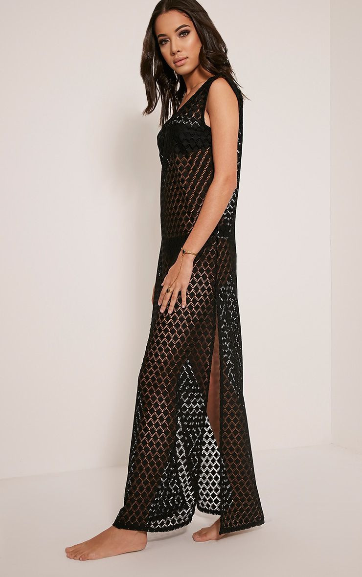 Best Of Starla Black Crochet Lace Cover Up Maxi tops Black Crochet Cover Up Of Superb 42 Images Black Crochet Cover Up