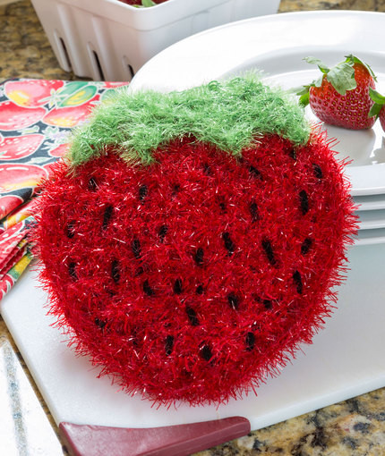 Best Of Strawberry Sparkle Scrubby Free Crochet Pattern ⋆ Crochet Scrubby Yarn Patterns Of Adorable 47 Images Scrubby Yarn Patterns