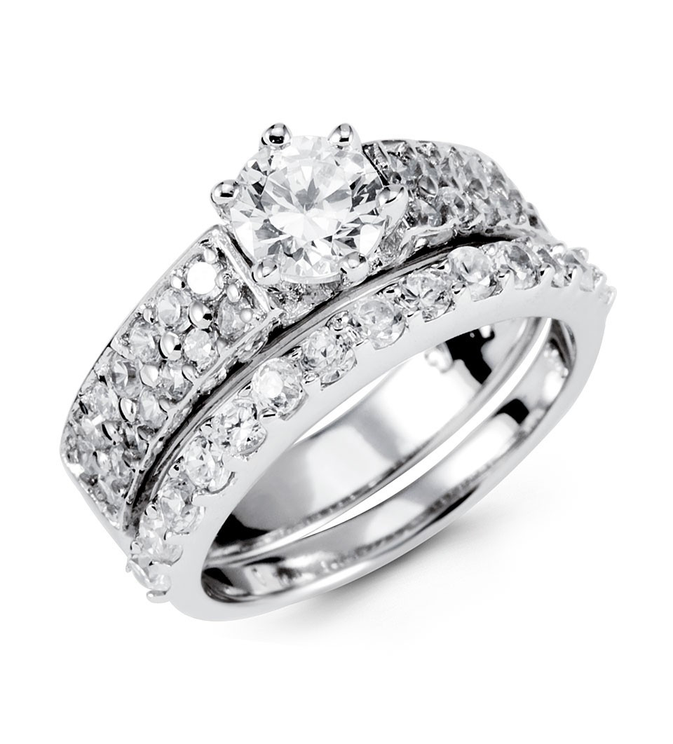 Best Of Stunning Double Band Wedding Rings Contemporary Styles Double Wedding Ring Of Perfect 40 Photos Double Wedding Ring