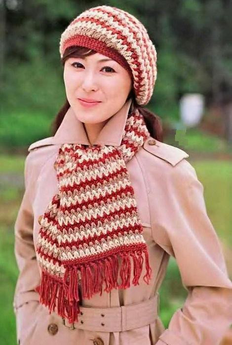 Best Of Stylish Easy Crochet Women Beret Hat Scarf Set Free Crochet Hat and Scarf Patterns Free Of Amazing 47 Pics Crochet Hat and Scarf Patterns Free