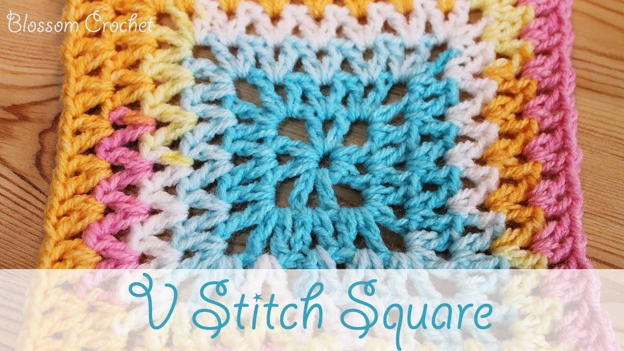 Best Of Super Easy Crochet V Stitch Square Crochet Stitches Youtube Of Attractive 48 Images Crochet Stitches Youtube
