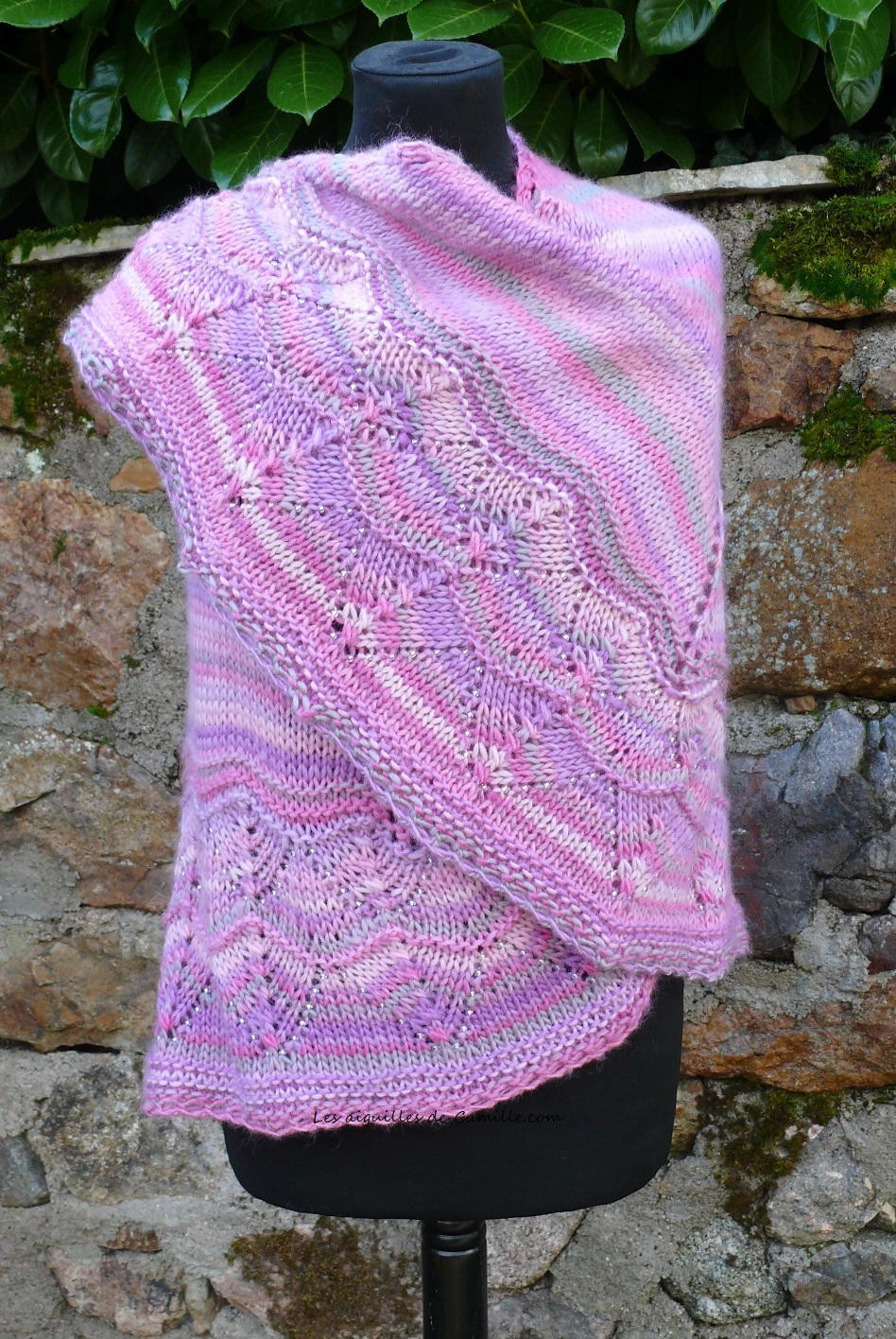 Best Of Sweet and Simple Knit Shawl Easy Knit Shawl Of Fresh 44 Photos Easy Knit Shawl