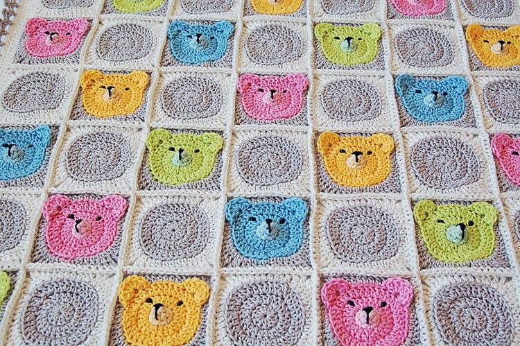Best Of Teddy Bear Granny Square Baby Blanket Granny Square Baby Blanket Of Amazing 41 Pictures Granny Square Baby Blanket