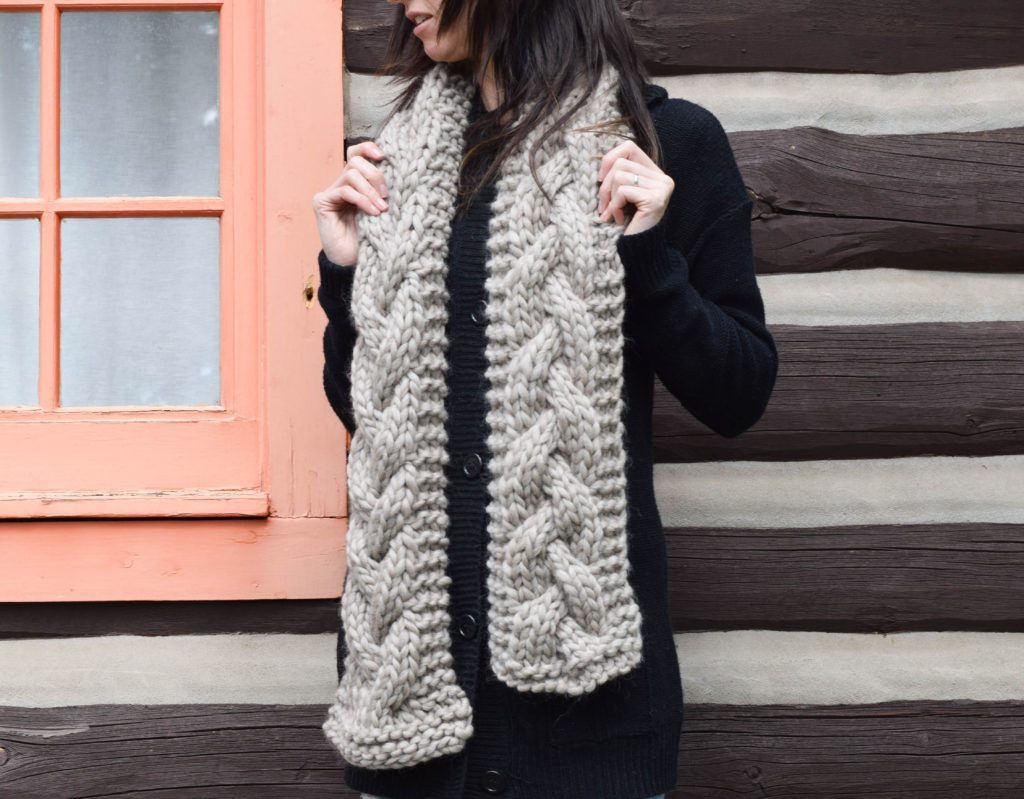 Best Of the Cascades Knit Scarf – Mama In A Stitch Cable Knit Scarf Pattern Of Luxury 44 Ideas Cable Knit Scarf Pattern