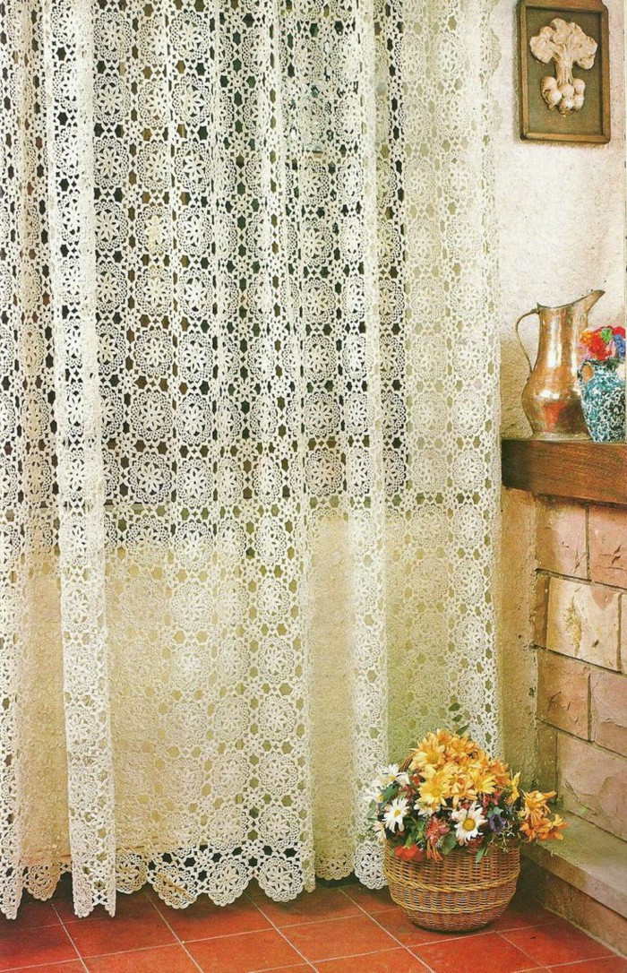 Best Of the Crochet Curtains – Curtains with Charm Covers Home Crochet Curtain Patterns Of Contemporary 49 Ideas Crochet Curtain Patterns
