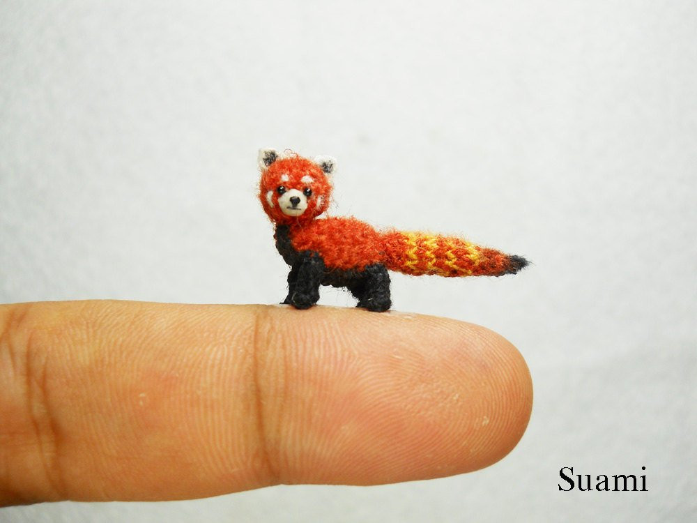 Best Of theknittycat S Tips & Techniques Amazing Micro Mini Knitted Animals Of Attractive 49 Pics Knitted Animals