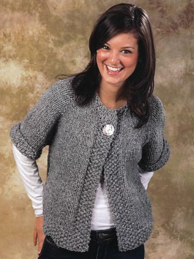 Best Of This Easy Swing Coat is Knitted From the top Down In One Knitted Coat Patterns Of Charming 41 Models Knitted Coat Patterns