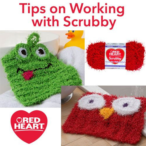 Best Of Tips On Working with Scrubby Red Heart Scrubby Yarn is Scrubby Yarn Patterns Of Adorable 47 Images Scrubby Yarn Patterns