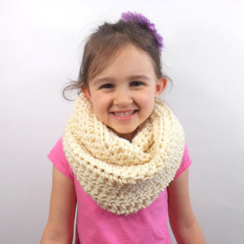 Toddler Infinity Scarf Designs and Patterns
