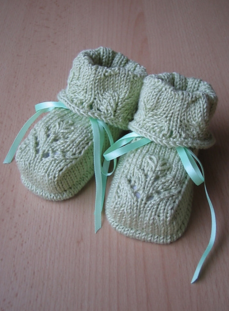 Best Of top 10 Free Patterns for Knitting and Crocheting Baby Crochet Baby socks Of New Berry Baby Booties Knitting Pattern Easy Crochet Baby socks