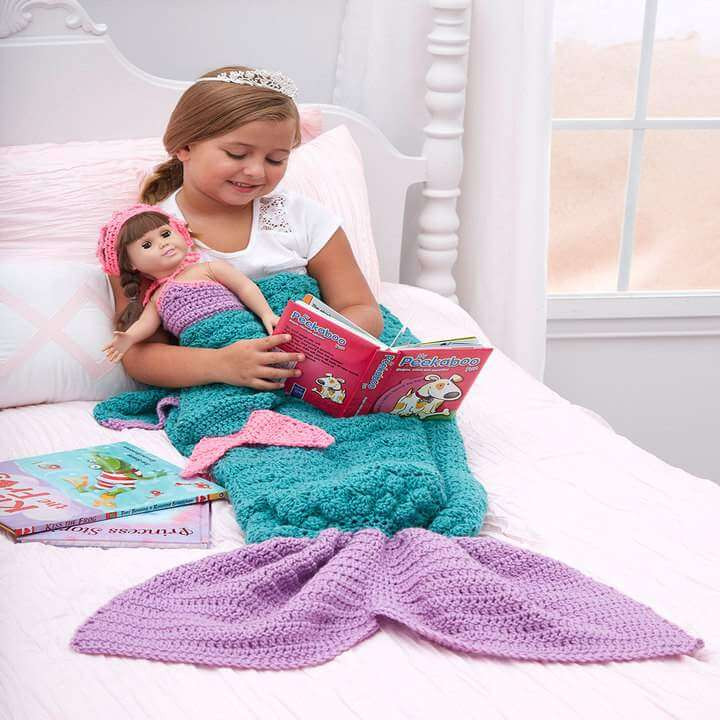Best Of top 50 Free Crochet Patterns You Should Try This Season Mermaid Blanket Child Of Contemporary 49 Ideas Mermaid Blanket Child
