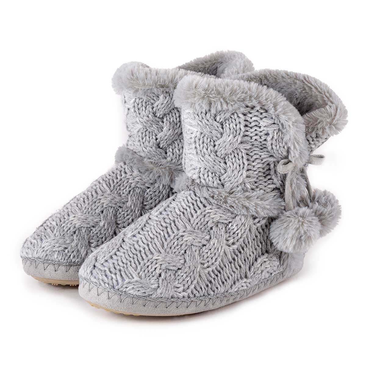 Best Of totes La S Cable Knit Boot Slippers Knitted Slipper Boots Of Superb 41 Pics Knitted Slipper Boots