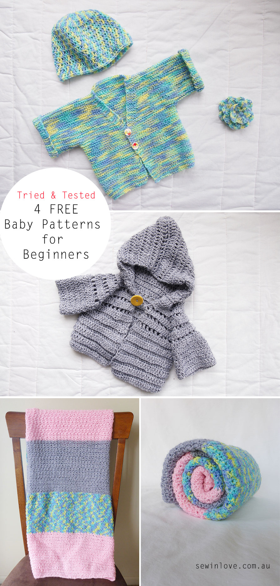 Best Of Tried and Tested Free Baby Knitting and Crochet Patterns Knitting and Crochet Patterns Of Adorable 46 Ideas Knitting and Crochet Patterns
