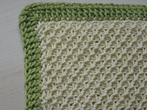 tunisian crochet patterns baby blankets Crochet and Knit