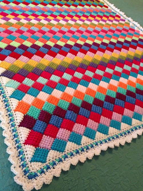Best Of Tunisian Entrelac Crochet Patterns Tunisian Crochet Blanket Of Attractive 49 Models Tunisian Crochet Blanket
