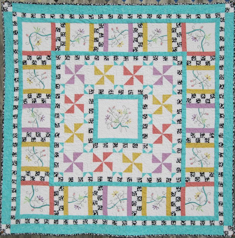 Turnberry Lane Machine Embroidery patterns table runners