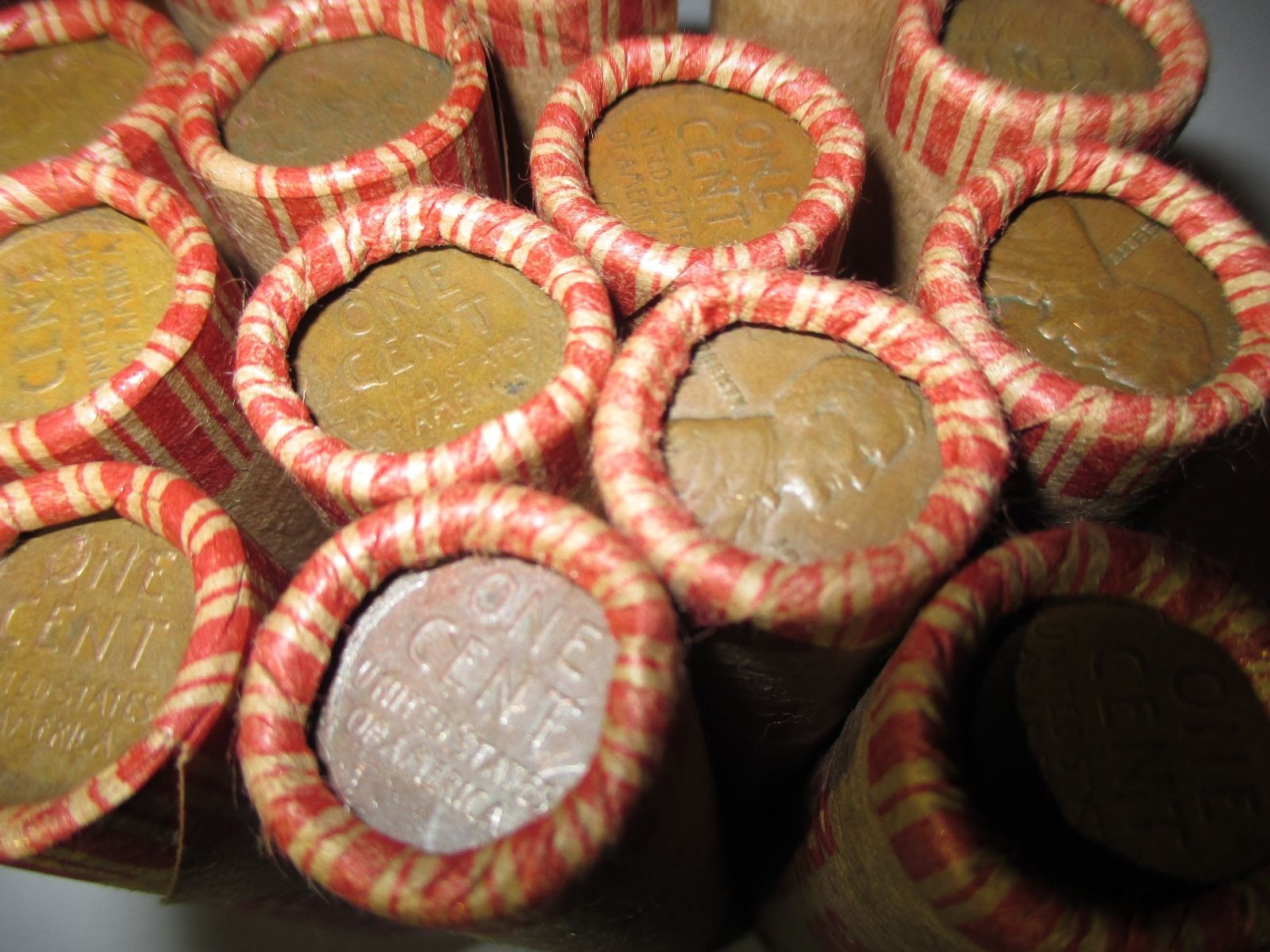 Best Of Unsearched Wheat Penny Shotgun Roll Wheat Cent Lot 1909 Wheat Penny Rolls Of Awesome 43 Photos Wheat Penny Rolls