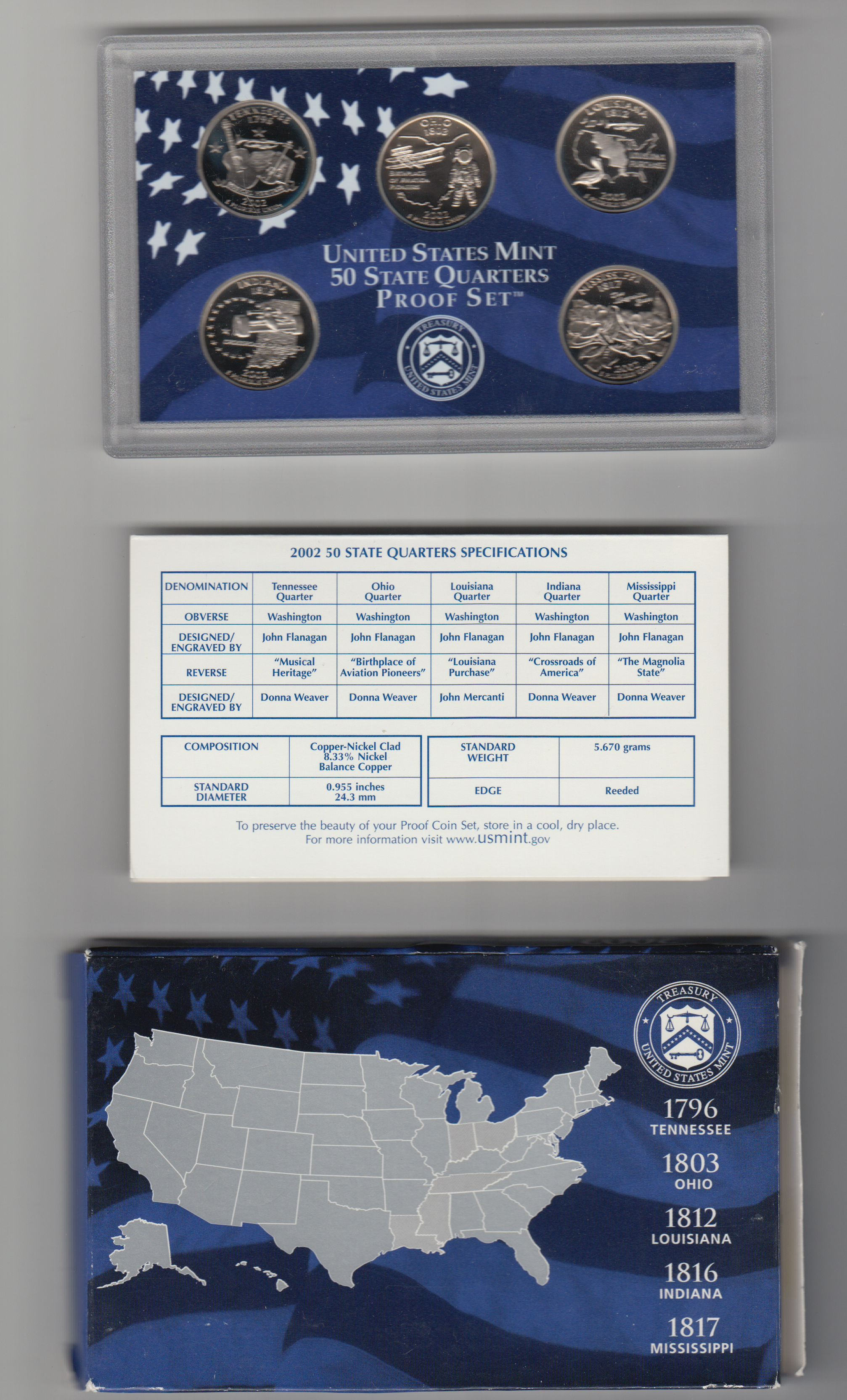 Best Of Value Of Usa 5 Coins 50 State Quarters Proof Set U S State Quarter Set Value Of New Washington 50 State Quarters Program 1999 2008 State Quarter Set Value