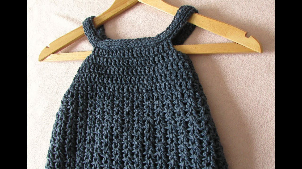 Best Of Very Easy Crochet Baby Girl S Pinafore Dress Tutorial Crochet Girl Dress Of Awesome 46 Images Crochet Girl Dress