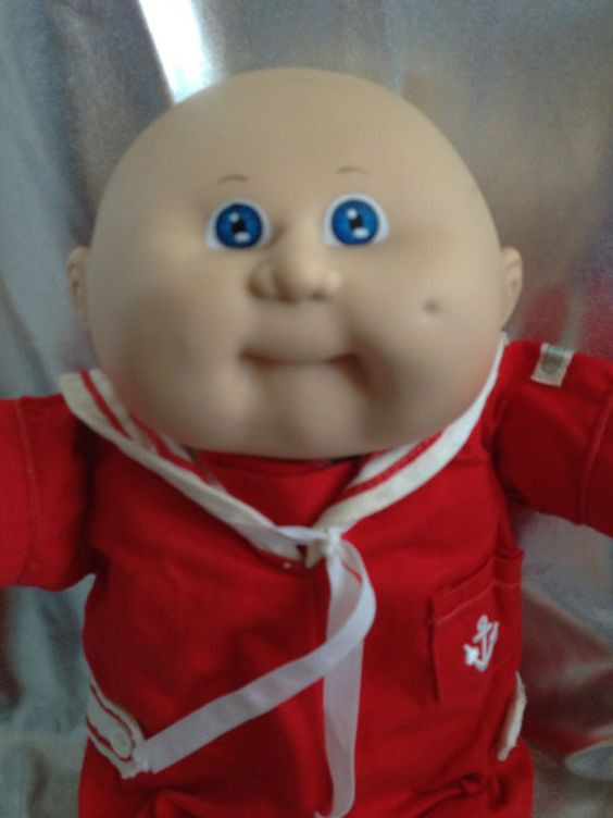 Best Of Vintage Cabbage Patch Kid Bald Blue Sailor Boy Hm 8 Kt Baby Cabbage Patch Doll Of Great 47 Photos Baby Cabbage Patch Doll